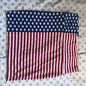 Charlotte Russe Skirts - American flag mini skirt